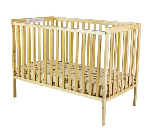 Dream On Me Synergy 5-in-1 Convertible, Crib, Natural by Dream On Me (Image #1)