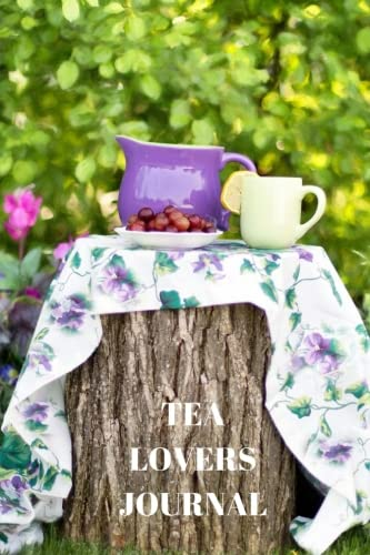 Tea Lovers Journal notebook Positive product image