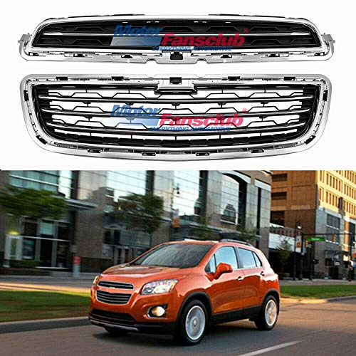Front Bumper Upper Grill Lower Grille For Chevrolet Trax 2014 2015 2016 (US Shipment)