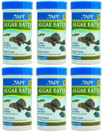 6.4 Ounce Spirulina (API Algae Eater Wafers 38.4oz (6 x 6.4oz))