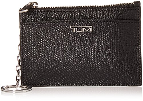 Tumi Women's Sinclair Slim Card Case Travel Purse, Black, One Size