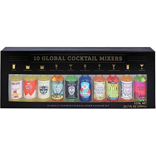 10 Pack Global Cocktail Mixers (Cocktail Gifts)