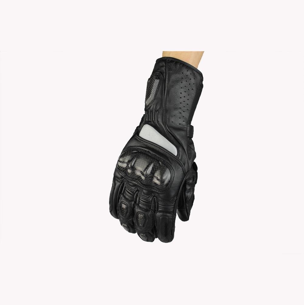 BKPH Männer Motorrad Warm bleiben Handschuhe All-Finger Rutschfest Handschuhe Winddicht Im Freien Übung Handschuhe