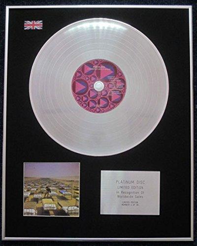 Pink Floyd–Platinum LP Disc–edizione limitata a Momentary lapse of Reason Century Presentations