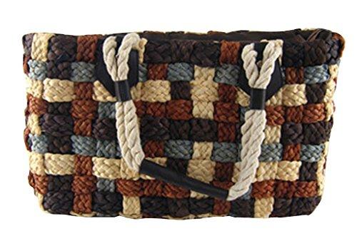 Z&Y - Bolso mochila  para mujer Varios colores multicolor marrón
