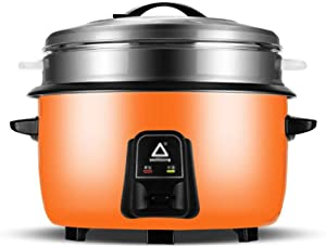 Large electric rice cooker commercial large capacity old-fashioned large rice cooker non-stick inner liner anti-drying rice cooker cookware suitable for 6-70 people in canteens, hospitals, schools, fa