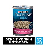 Purina Pro Plan Sensitive Stomach Pate Wet Dog Food, FOCUS Sensitive...