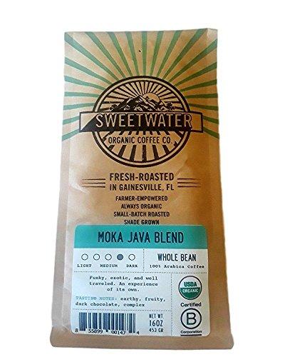 Multi Pack Moka Java Blend Viennese Medium Roast Whole Bean Fair Trade Organic Coffee, 2 - Roast Viennese
