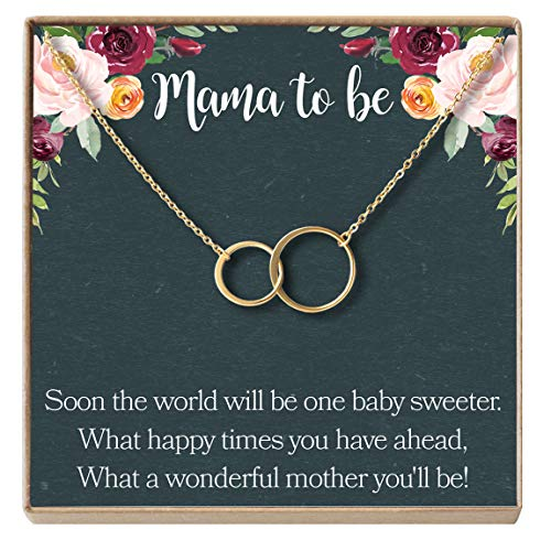 Dear Ava Pregnancy Gift Necklace, New Mom, Expectant Mother,...