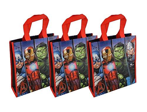 3-Pack Marvel Avengers Reusable 12