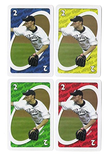 2006 UNO National League 4 Cards SAN DIEGO PADRES Jake Peavy (Uno Cards Jake)