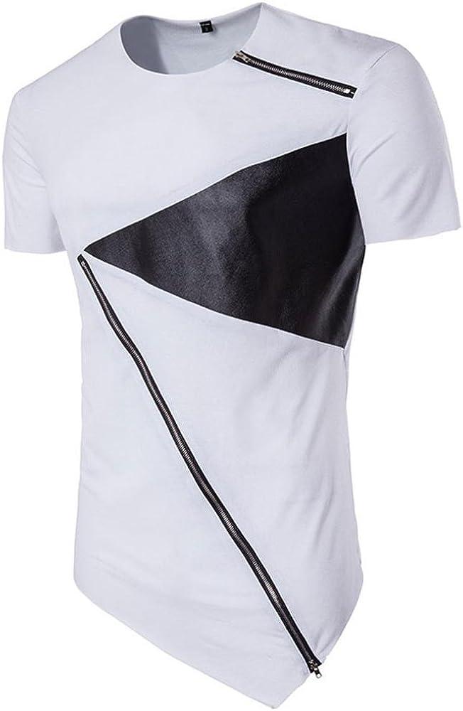 Camiseta para Hombre, Xinan Camiseta de Manga Corta de algodón ...