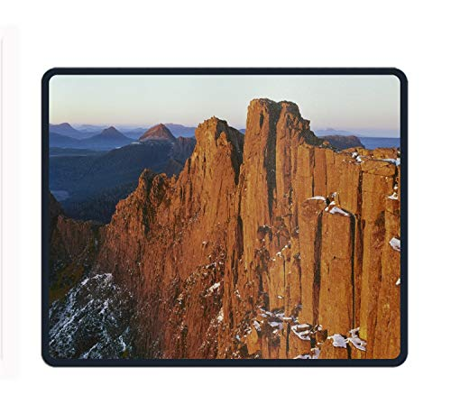 Cradle Mountain 11.8-Inch by 9.85-Inch Computer Mouse Pad with Neoprene Backing and Jersey Surface