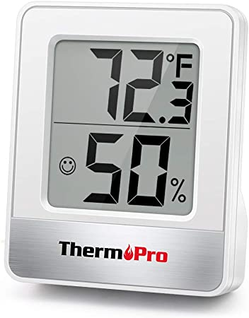 Indoor//Outdoor Thermometer Hygrometer Meter Temperature HumidityU Hn A/_O