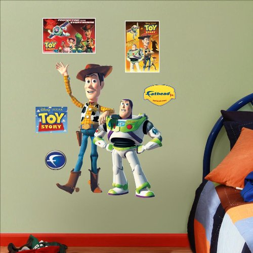 Toy Story Woody & Buzz Junior Wall Graphic