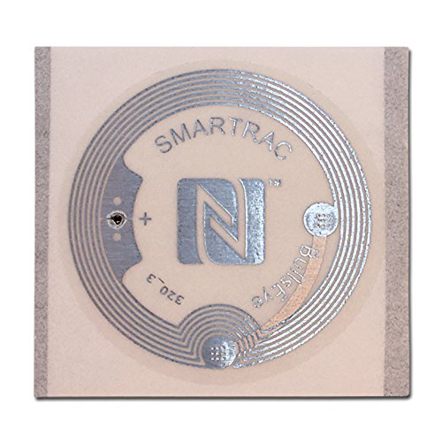 SMARTRAC 3002649 Clear Wet NFC Inlays BullsEye NXP NTAG216