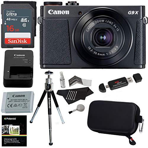 Canon PowerShot G9 X Mark II Digital Camera 20.2 MP Sensor
