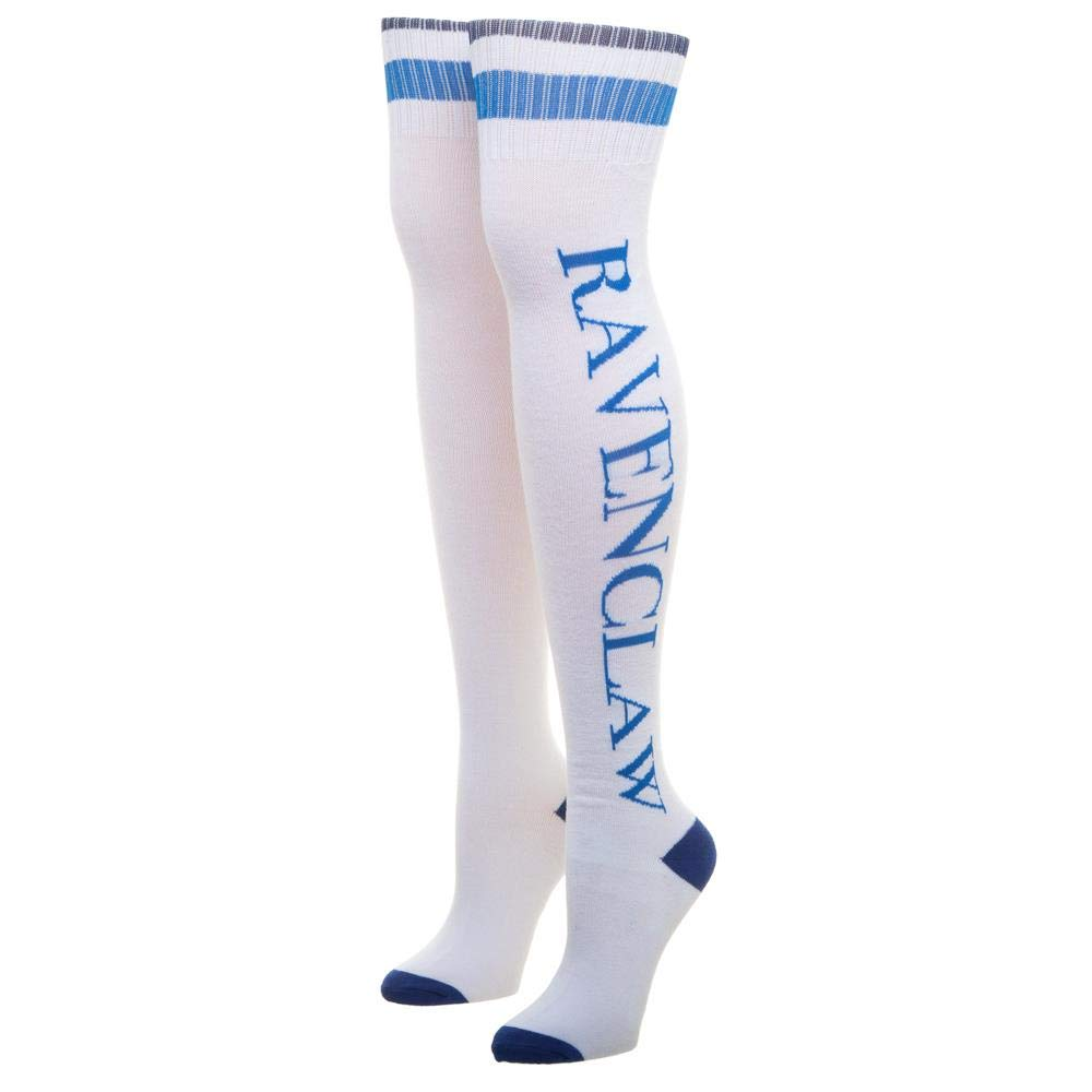 Bioworld Harry Potter Thigh High Socks Ravenclaw Calzature: Amazon ...