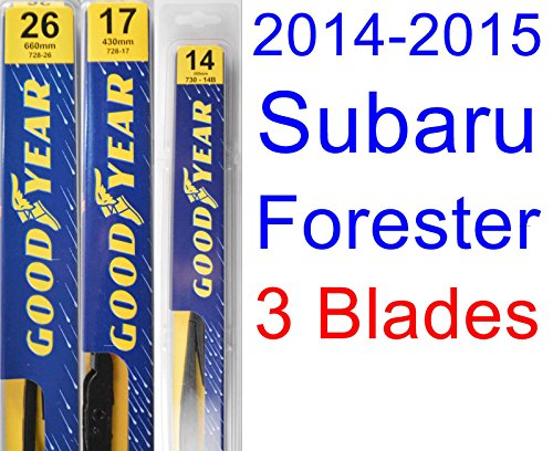 2014-2015 Subaru Forester Replacement Wiper Blade Set/Kit