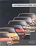 1983 Ford LTD Mustang EXP Escort Fairmont Brochure Spanish