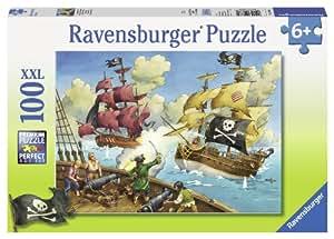 Ravensburger Pirate Battle Puzzle (100-Piece)