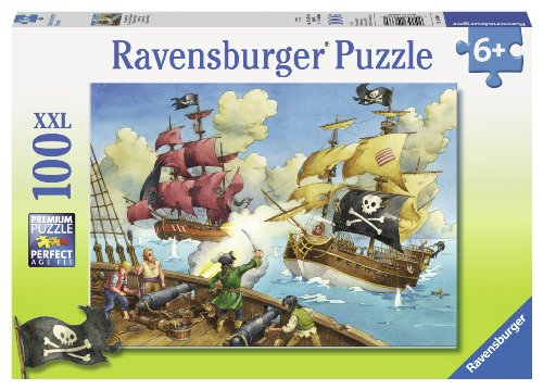 Ravensburger Pirate Battle Puzzle (100-Piece)