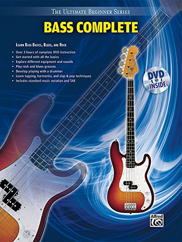 Ultimate Beginner -- Bass Complete: Book & DVD (Sleeve) (The Ultimate Beginner Series)