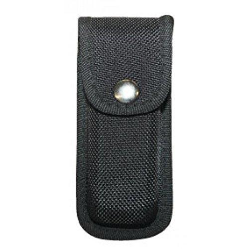 Hochwertiges G8DS® Nylon Messeretui Gürteletui schwarz 12 cm 7854
