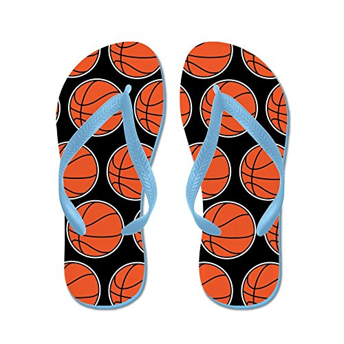 Cafepress Basketball - Tongs, Sandales String Sexy, Sandales De Plage Bleu Caraïbes