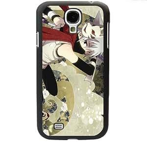 Naruto Manga Anime Comic Uzumaki Naruto Uchiha Sasuke Samsung Galaxy S4 SIV I9500 TPU Soft Black or White case (Black)