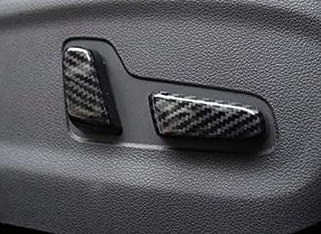 Getr/änkehalter HIGH FLYING Interieur Dekor ABS Kunststoff Kohlefaserfarbe f/ür Tucson 2016-2020