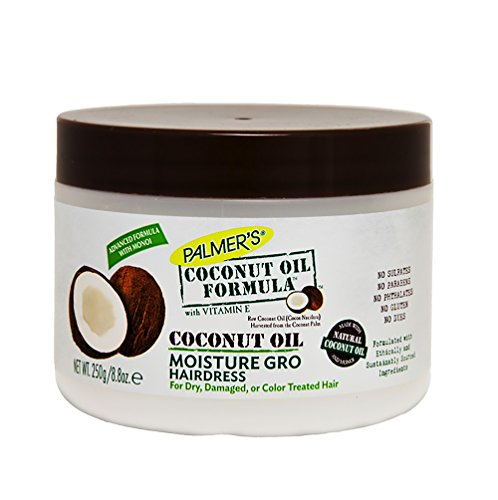 - Palmer's Coconut Oil Moisture Gro Shining Hairdress Jar - Helps Control Frizz and Prevents Breakage and Strengthens Fragile Hair - 8.8 Oz - 2 Pack
