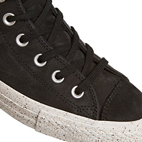 Converse Mens Chuck Taylor All Star High Top Nubuck Sneakers Zwart / Malted / Bleke Stopverf