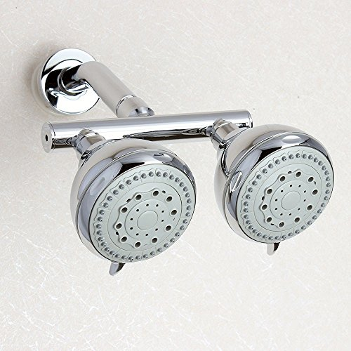 5 function twin shower head - 5