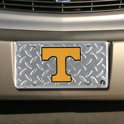 (Tag City (6x12) University of Tennessee Diamond Cut NCAA Tin License Plate)