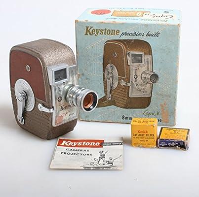Amazon com : ART DECO 8MM CINE/MOVIE CAMERA IN ORIGINAL BOX