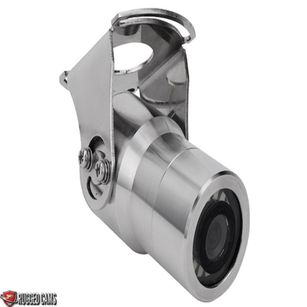 Stainless Steel Bullet IP68 rated camera with Stainless steel mount