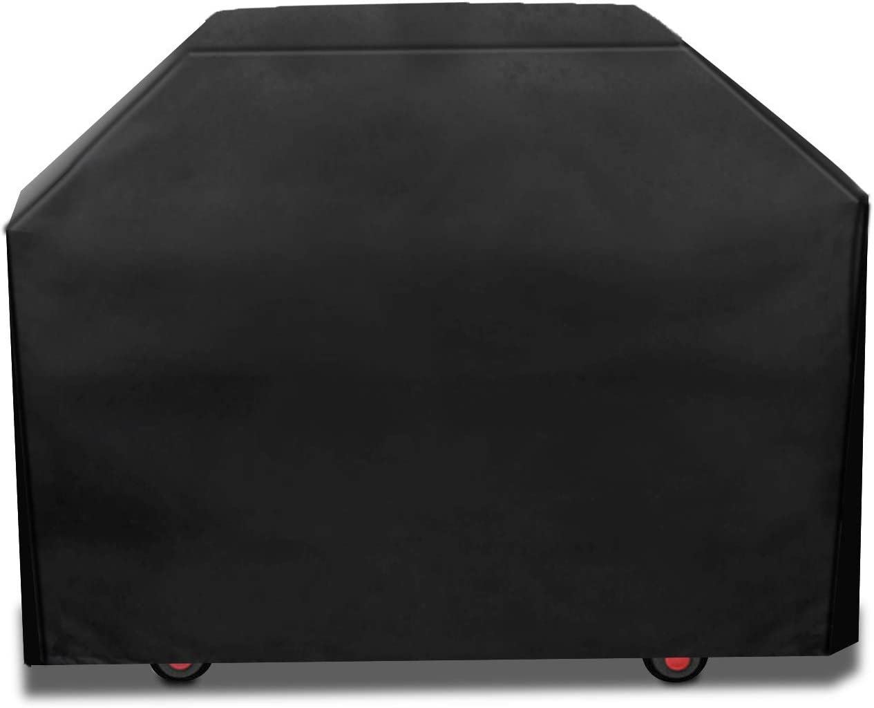 Nicsir Cover Grill BBQ Cover Dustproof, Rainproof and Sunproof Cloth Cover Suitable for All Kinds Barbecue Grill Brands 58x24x46 Inch (Black) : Garden & Outdoor