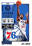 2018-19 Panini Contenders Season Ticket #25 Joel Embiid Philadelphia 76ers Basketball Card