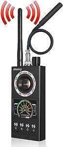 2021 Upgraded RF Bug Detector, Anti Spy Detector for Wireless Hidden Spy Camera & GPS Tracker Bug Detector & Anti Camera Scanner RF Signal Detector for GPS Tracking Device