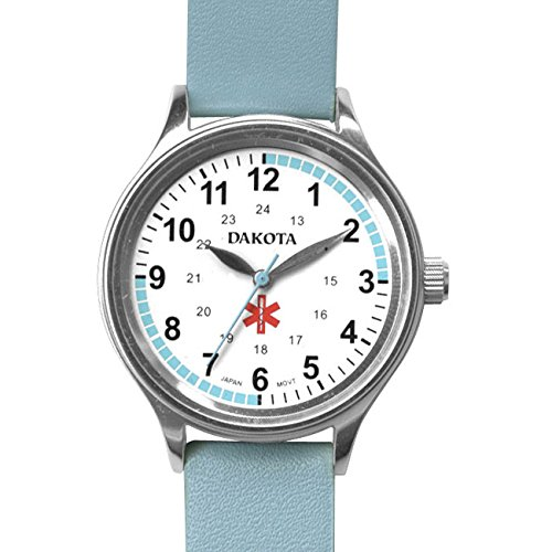 Dakota Nurse Quartz Leather Casual Women's Watch(Model: 53903)