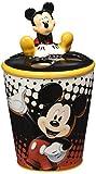 Westland Giftware Ceramic Toothbrush Holder, Disney Mickey Dots