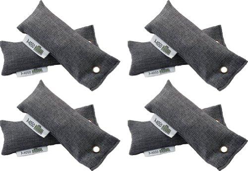 Moso Natural Mini Air Purifying Bag- Charcoal- (2) 50G- 4 Pack