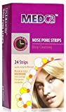 Biore Deep Cleansing Pore Strips MEDca Deep Cleansing Nose Pore Strips, 24 Count