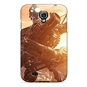 Awesome BMCAvWc7kvWVW AnnetteL Defender Tpu Hard Case Cover For Galaxy S4- Robot Warrior
