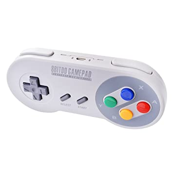 8bitdo Sf30 Wireless Bluetooth Spiel Controller Gamepad Amazonde