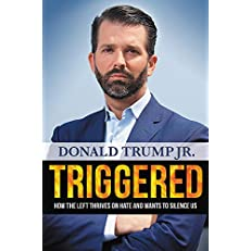 Triggered Book by Donald Trump, Jr.