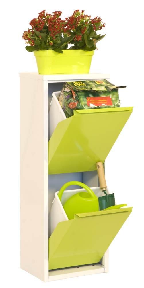 Gartenbox 2, Maße: 92 x 33,50 x 25 cm (H x B x T), 30 Liter