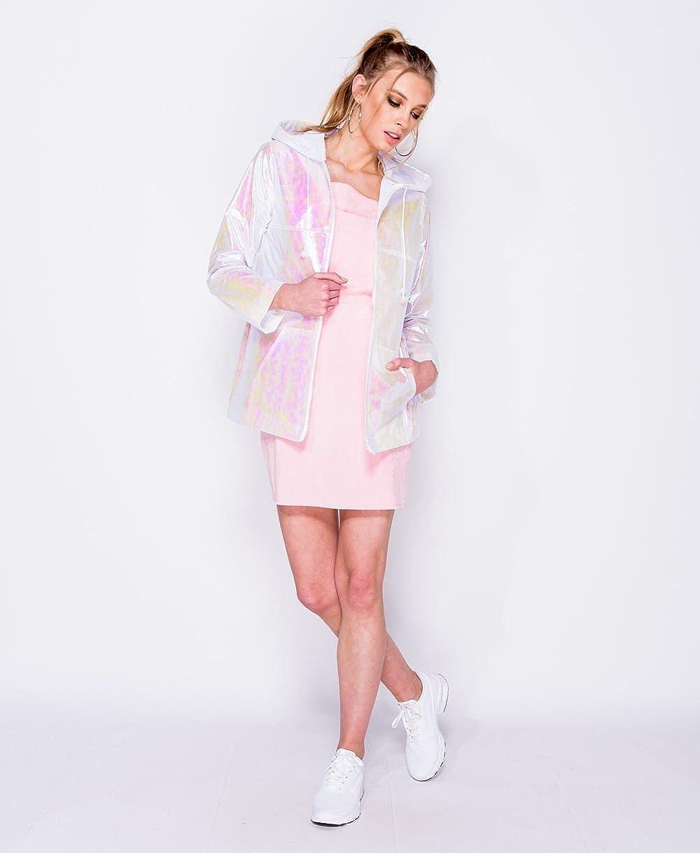 Instagram Clothing - Chaqueta - Parka - Manga Larga - para mujer Rosa rosa 40: Amazon.es: Ropa y accesorios