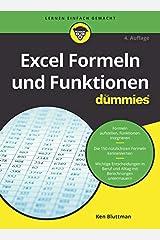 Excel Formeln und Funktionen für Dummies (German Edition) Kindle Edition